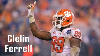 Film Room: Clelin Ferrell, EDGE, Clemson Scouting Report (NFL Draft Ep. 7)