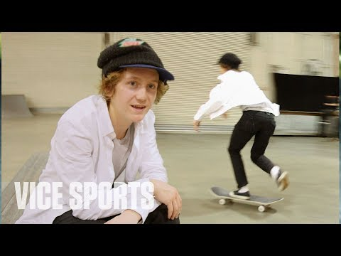 Skating with Olympic Gold Medalist Red Gerard