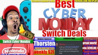 Best Nintendo Switch Cyber Monday Deals
