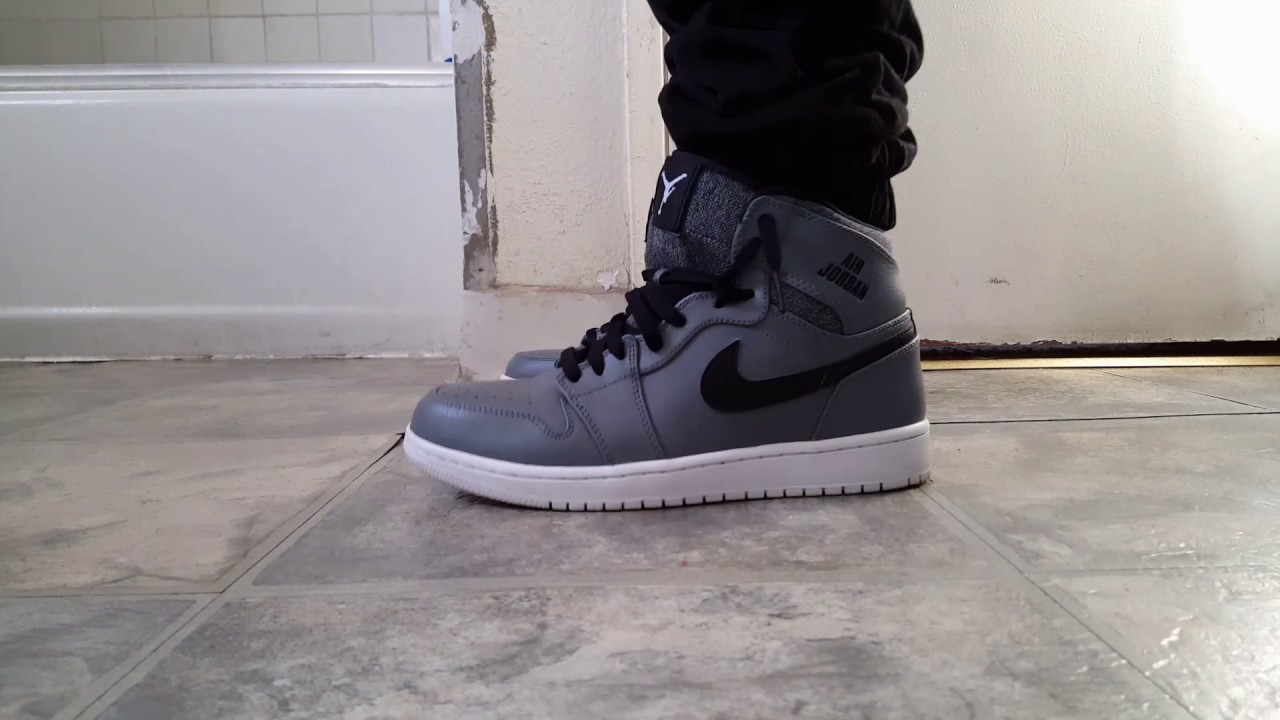 new styles 09eda 0b20e 2017 Air Jordan 1 Retro High Rare Air Cool Grey On Feet Sneaker Review