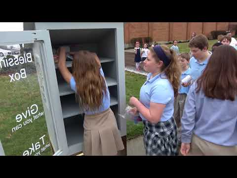 Southern Ohio Survivors/Bishop Flaget School Blessing Box