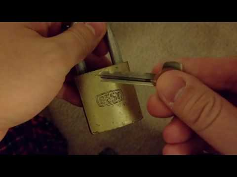 Best Access Padlock AC11 Lock Picking