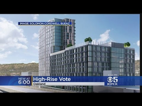Oakland's Gentrification Debate Renewed With Proposed High-Rise Building