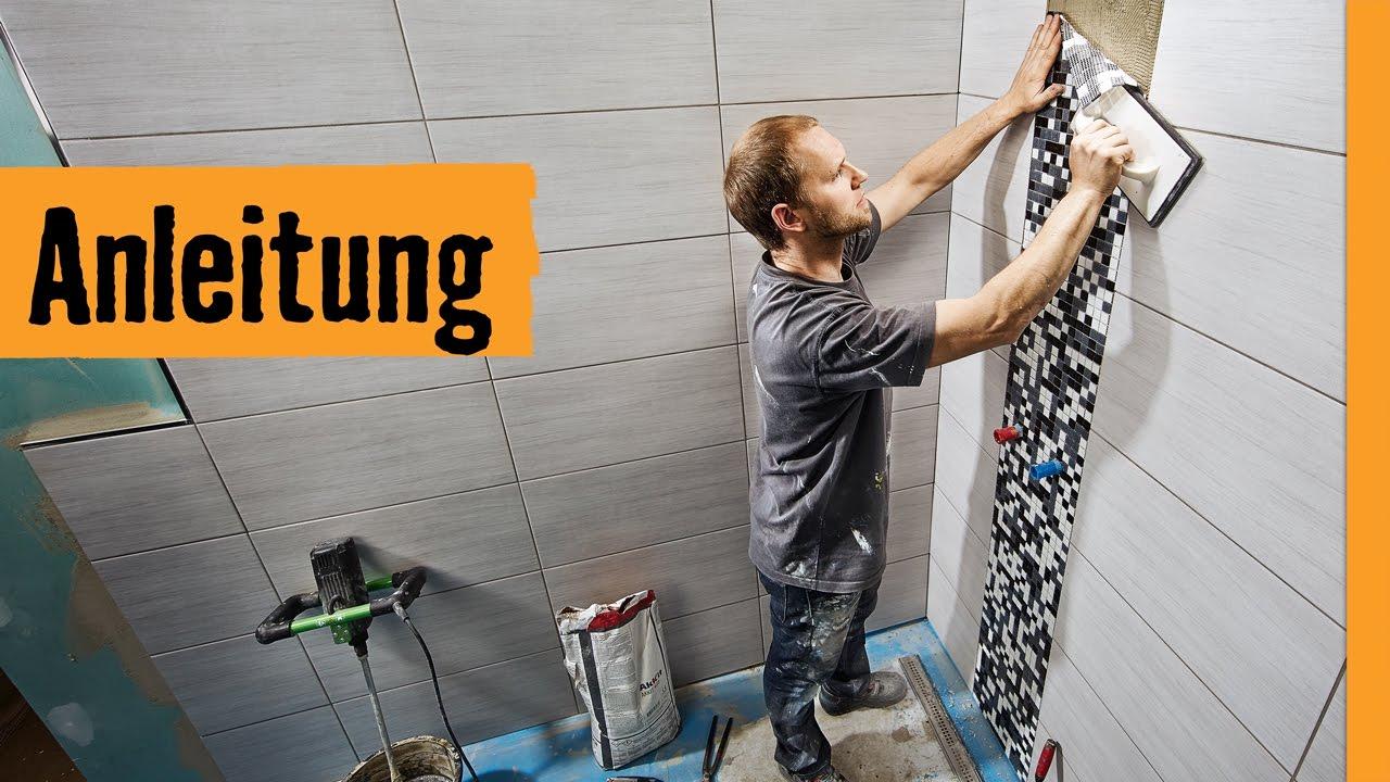 mosaikfliesen verlegen hornbach meisterschmiede youtube. Black Bedroom Furniture Sets. Home Design Ideas
