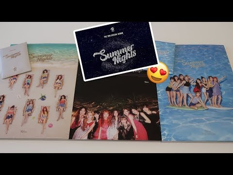 UNBOXING TWICE SUMMER NIGHTS (2ND SPECIAL ALBUM)