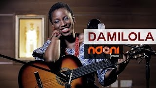 "Damilola sings ""Smile"" on Ndani Sessions"