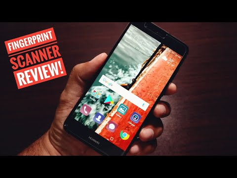 Huawei P10 Lite Fingerprint Scanner Review!