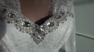 Видеообзор свадебного платья от интернет-магазина www.ya-nevesta.com