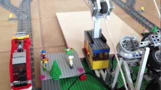 Lego Mindstorms Cable Car and Shuttle Train - Part 1