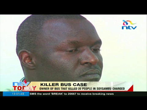 Owner of the bus involved in Soysambu accident charged