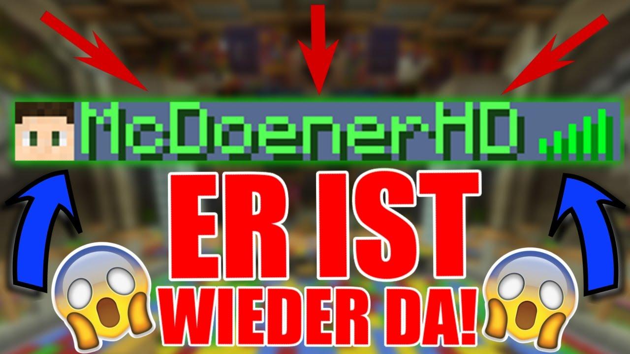 ICH HAB SELTENEN MINECRAFT NAMEN WIEDER McDoenerHD YouTube - Minecraft namen andern ohne 30 tage zu warten