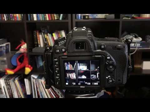 Nikon DSLRs: Live View Histogram