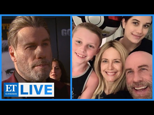 John Travolta Grieves Kelly Preston    ET Canada LIVE