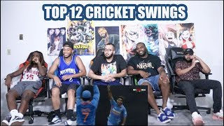 Top 12 Insane Swing bowling in Cricket Compilation REACTION