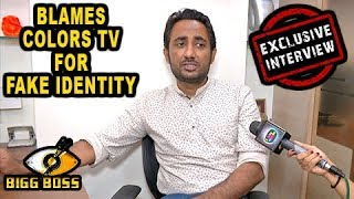 Zubair Khan BLAMES Colors Tv For His FAKE IDENTITY | Bigg Boss 11