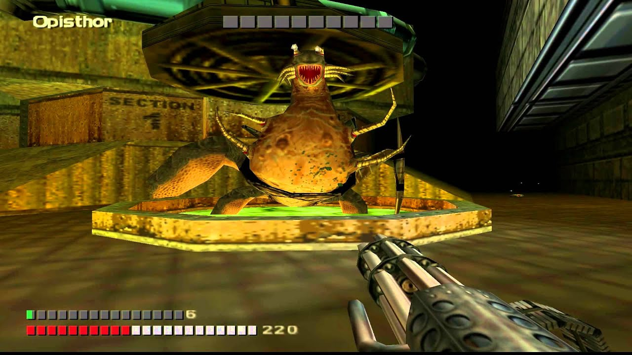 Turok 3: Almost All Bosses - YouTube