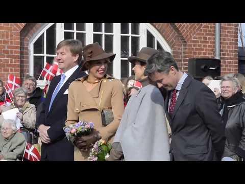Samsø sang for dronning Maxima og kong Willem-Alexander