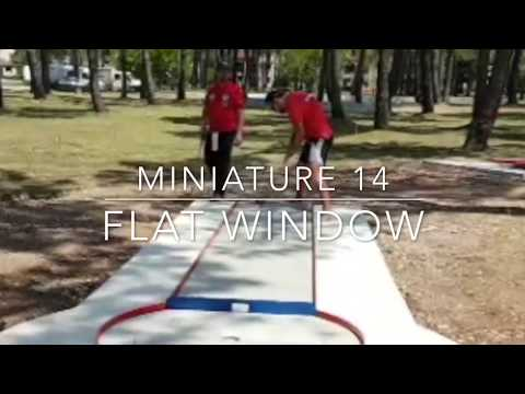 Miniature Lane 14 - Flat Window (World Championships 2017)