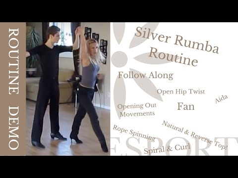 Silver Rumba Routine - Ottawa Dance Sport