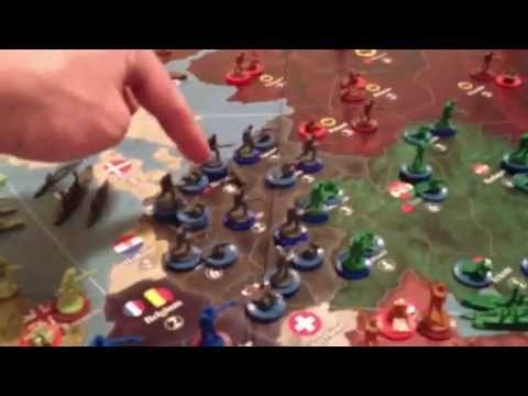 Axis and Allies 1914 - Rules