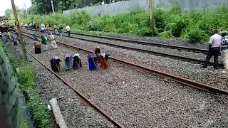 New track construction by Indian railways