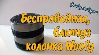 Обзор и распаковка беспроводной блютуз колонки Woofy от Zogi