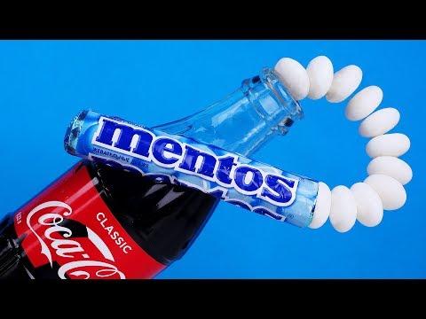 COCA COLA VS MENTOS   9 FAST COCA COLA LIFEHACKS
