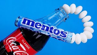 COCA COLA VS MENTOS | 9 FAST COCA COLA LIFEHACKS