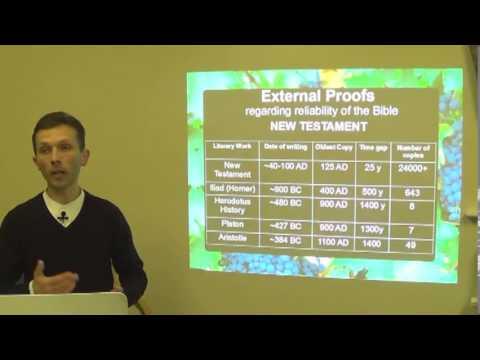 1.Reasons to trust the Bible - part 1 - john (ioan) panaite