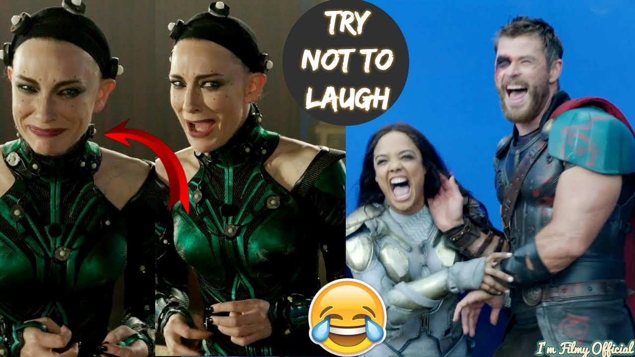 Download Thor: Ragnarok Hilarious Bloopers and Gag Reel - Full Outtakes 2018