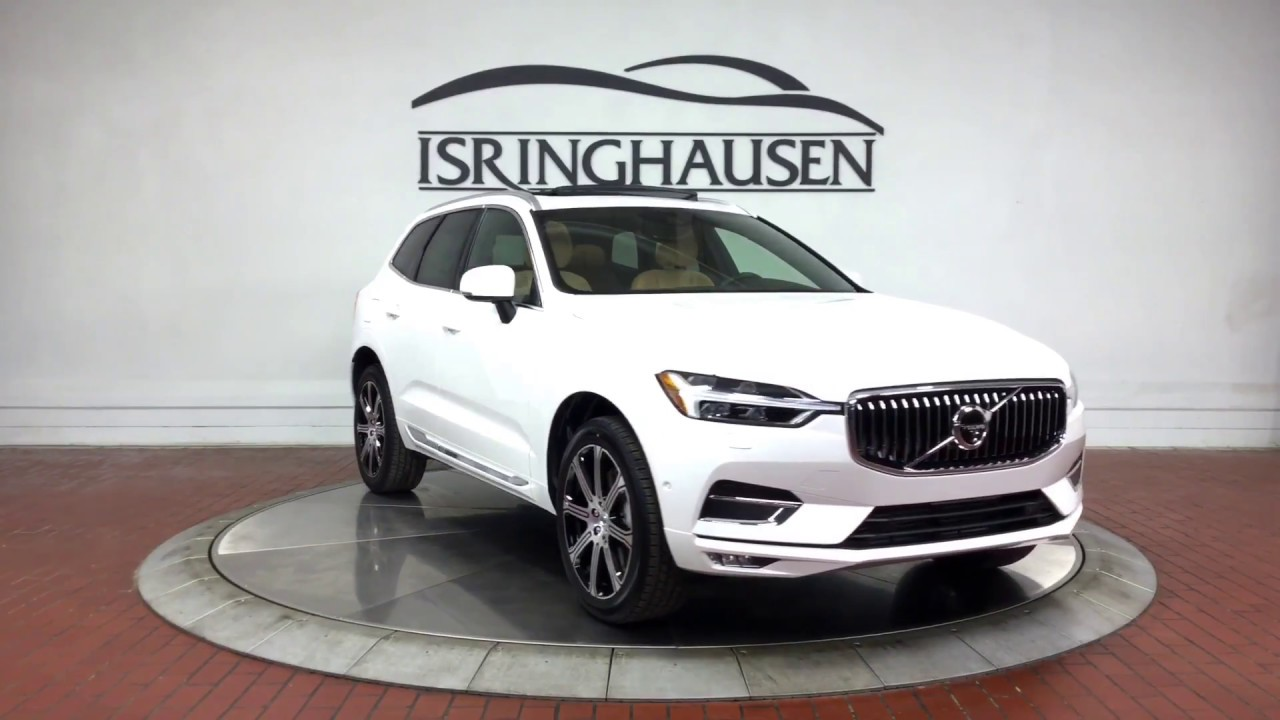 2018 volvo xc60 t6 awd inscription in crystal white. Black Bedroom Furniture Sets. Home Design Ideas