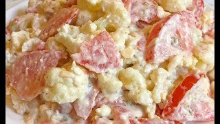 НЕЖНЕЙШИЙ САЛАТ ИЗ ЦВЕТНОЙ КАПУСТЫ НА КАЖДЫЙ ДЕНЬ / Cauliflower Salad Recipe