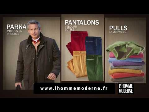 LHomme Moderne objets originaux du monde : spot TV novembre