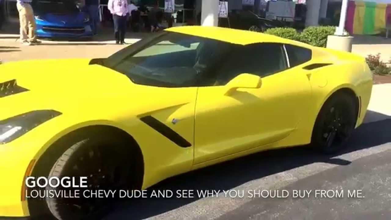 2016 Corvette In The New Corvette Race Yellow Color Youtube