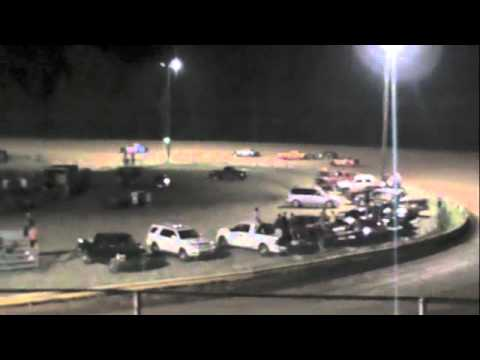 Pure Stock Race at Dublin Motor Speedway 07-30-11
