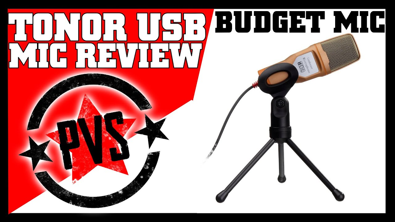 tonor usb microphone review sound test youtube. Black Bedroom Furniture Sets. Home Design Ideas