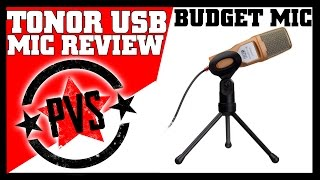 Tonor USB Microphone - Review & Sound Test