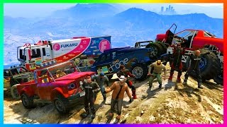 GTA ONLINE EXTREME 4X4 OFF-ROADING SPECIAL w/ MAD MAX VEHICLES & CUSTOM GTA 5 MONSTER JAM TRUCKS!(GTA ONLINE EXTREME 4X4 OFF-ROADING SPECIAL w/ MAD MAX VEHICLES & CUSTOM GTA 5 MONSTER JAM TRUCKS! ▻Cheap GTA 5 Shark Cards ..., 2017-01-15T20:01:04.000Z)