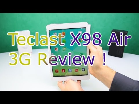 Teclast X98 Air 3G Review - Best Chinese Tablet Killer 2015 ? - Dual Boot Windows 8 + Android ! [HD]