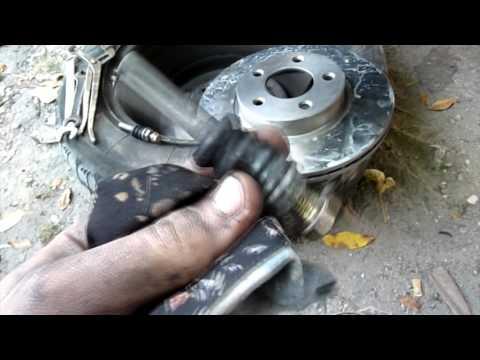 Замена тормозных дисков газель видео