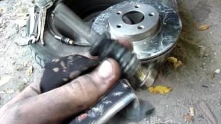 Тормозные диски.  Замена тормозных дисков ГАЗ 3110.