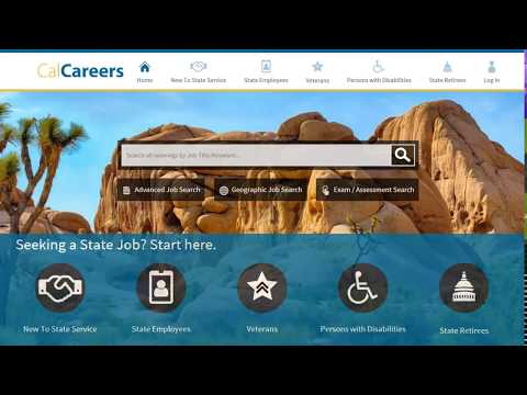 How To Electronically Apply For Jobs With The State