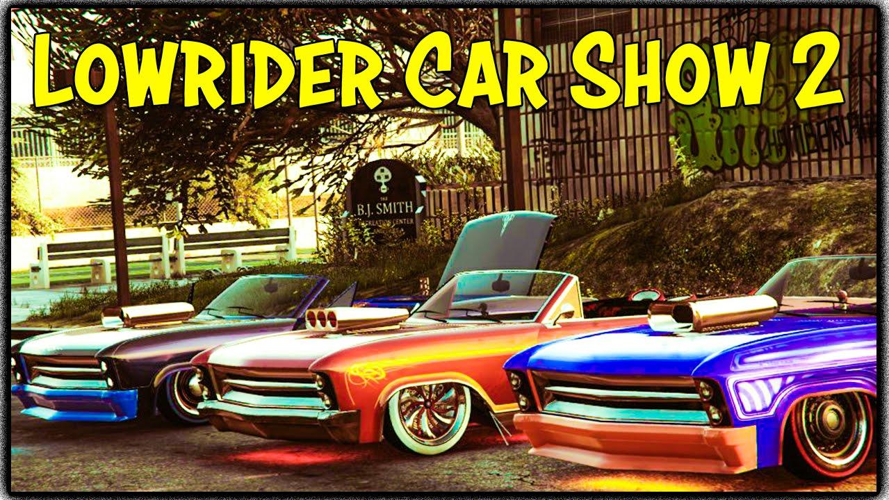 gta 5 online lowrider car show 2 gta v xbox one youtube