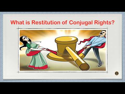 What is Restitution of Conjugal Rights?