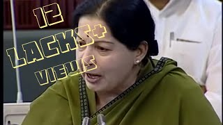 vuclip Jayalalitha bold speaks on power cut issues