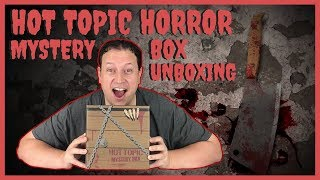 Hot Topic Funko Pop! Horror Mystery Box Unboxing + Mermaid Deadpool Collectors Edition Unboxing