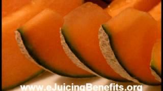Juicing Benefits, Berry Melon Juice