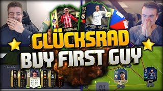 FIFA 18: GLÜCKSRAD BUY FIRST SPECIAL CARD ft. TOTY & Icons! 😱💀😭