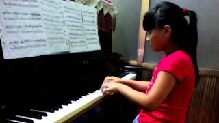 Thí sinh tài năng trẻ Festival Piano 2015