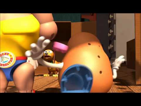 Toss Him Overboard Mr Potato Head Toy Story (1995)